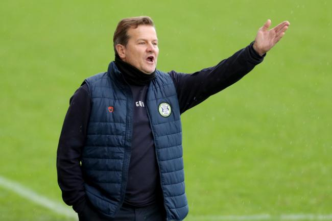 Forest Green Rovers manager Mark Cooper said 'we wouldn't have scored if we'd been there all night' following a disappointing 3-0 defeat at Stevenage