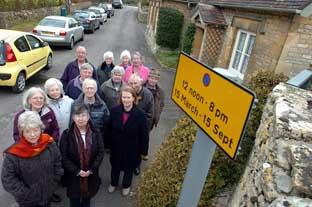 Bibury locals angry over signs