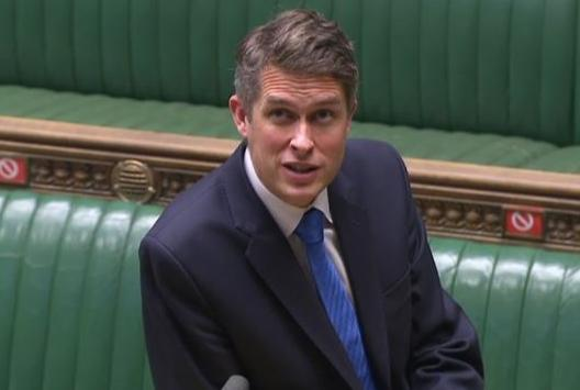 Wilts and Gloucestershire Standard: Education Secretary Gavin Williamson responds to questions in the House of Commons. (PA)