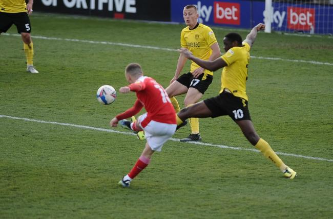 Burton 2 Swindon 1: Late Brayford header consigns Town to double Easter-weekend defeats