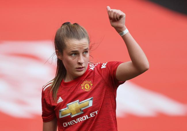 Exciting forward Ella Toone is hoping to build on her debut goal for the Lionesses in upcoming clashes against France and Canada © Action Images via Reuters