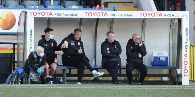 Sheridan agrees Town deserve to be cut adrift after Rochdale defeat