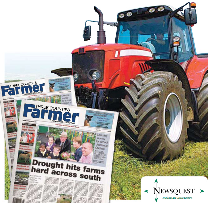 Wilts and Gloucestershire Standard: tractor