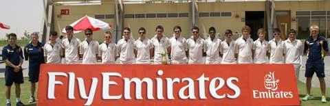 The successful Rendcomb College cricket tour party