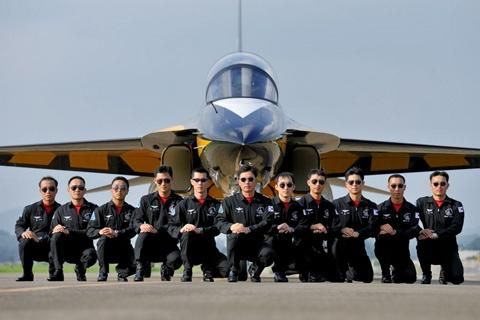 HISTORY will be made at RAF Fairford this summer when the South Korean Black Eagles become the first fixed wing aerobatics display team from Asia to perform in Europe.