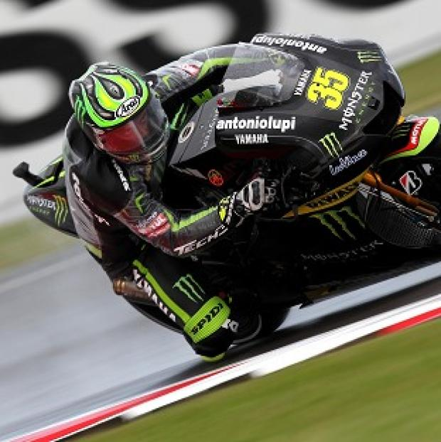 Cal Crutchlow will start from the back of the grid at Silverstone if passed fit