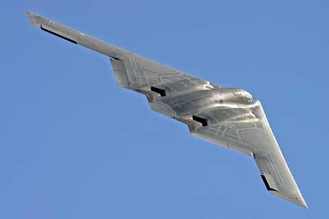 The US Air Force B-2 'Spirit' stealth bomber will make a 10,000-mile round trip from Whiteman Air Force Base in Missouri to take pride of place within the Air Tattoo's static aircraft park