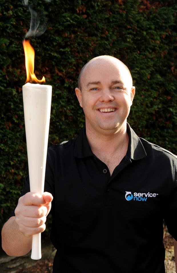 Olympic enthusiasts can go for gold in Cricklade this weekend with torchbearer Damien Davis