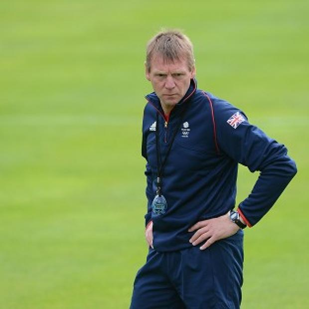 Stuart Pearce is in charge of Great Britain's Olympic football team