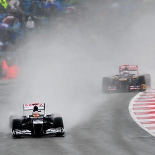 Rain caused havoc at Hockenheim