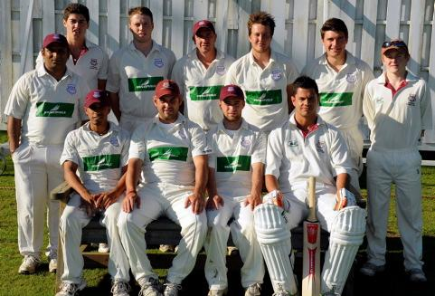 Lechlade CC's winning T20 side