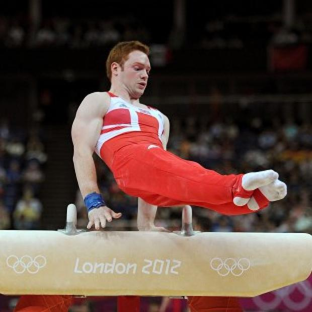 Daniel Purvis performed admirably on the pommel horse
