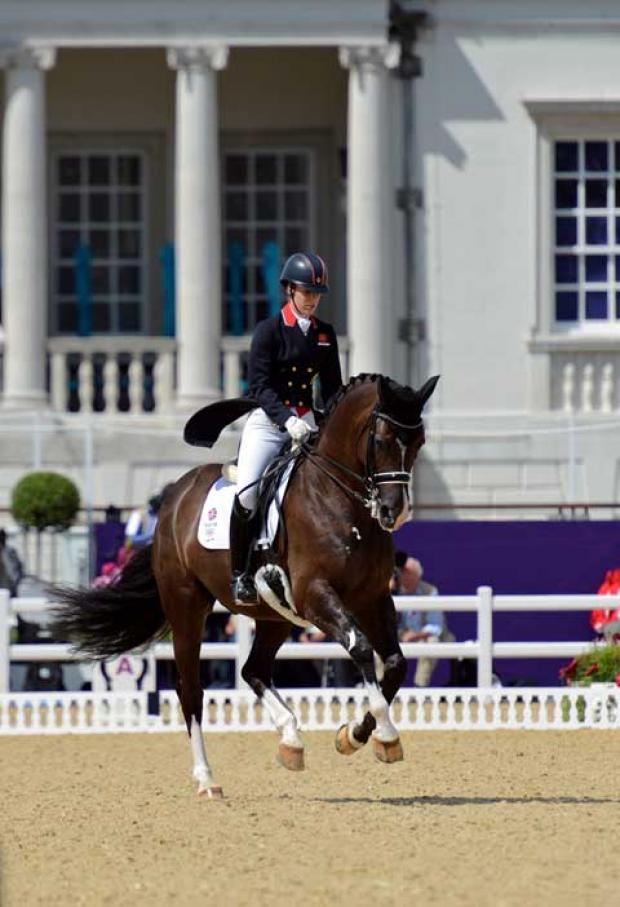 Charlotte Dujardin and Valegro. Picture: Ford McClave US PRESSWIRE