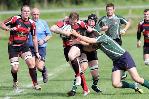 Action from Cirencester RFC v Chosen Hill Former Pupils