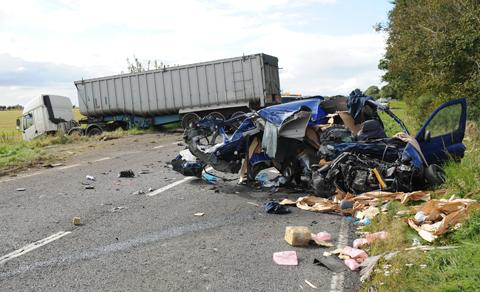 Gloucestershire man killed in crash with lorry
