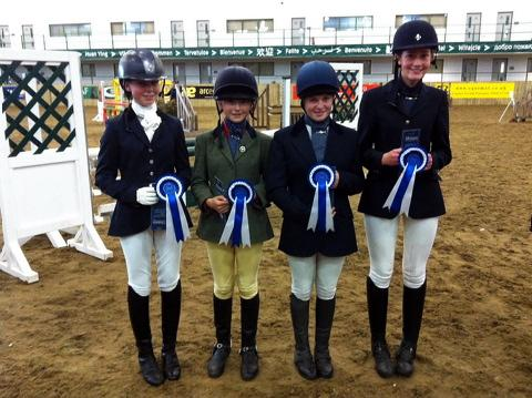 Malmesbury School equestrian teams show top form at Hartpury