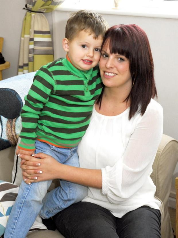 The centre is a lifeline for Emily Riley and her son Oliver