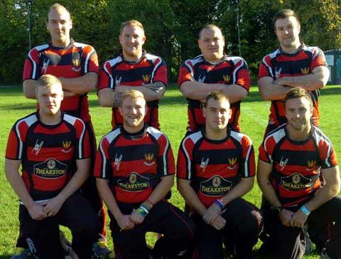Cirencester RFC first team's four sets of brothers