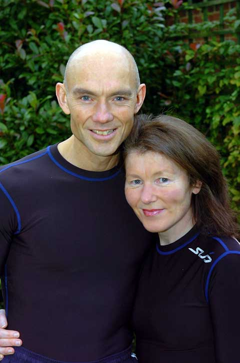Steve Edwards and his wife Teresa