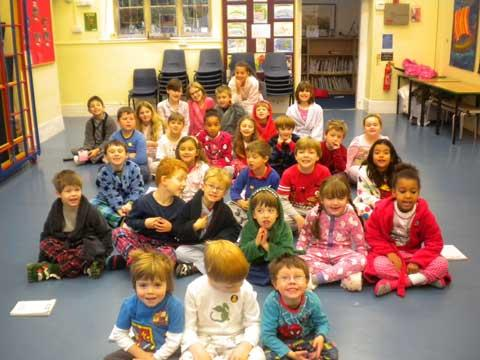 Bibury pupils support Children in Need