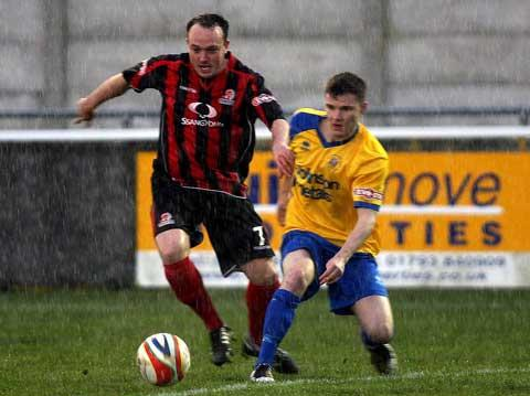 Cirencester midfielder Ben Wells was singled out for praise