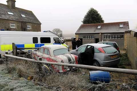 Arrests made following police raid on Kemble workshops