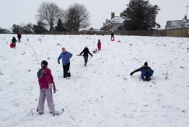 SNOW: Wiltshire hit hard
