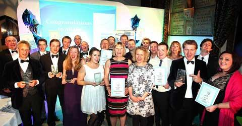 Winners and runners-up of the 2012 Cirencester Chamber of Commerce Awards