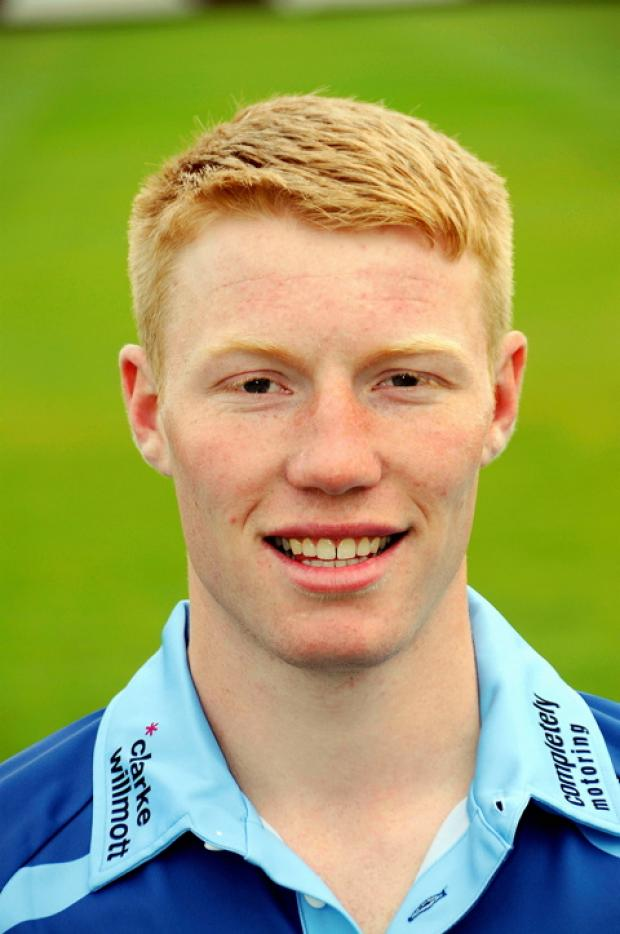 Gloucestershire bowler Liam Norwell is playing cricket in New Zealand