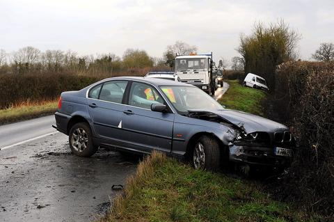 Ice causes Monday morning rush hour chaos in Wiltshire