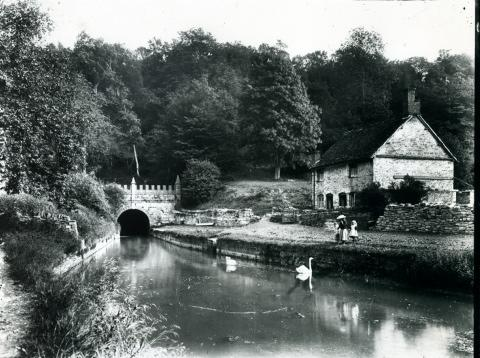 THE Daneway Portal at Sapperton, on the Thames and Severn Canal c 1850. Taken from the Standard's archives.