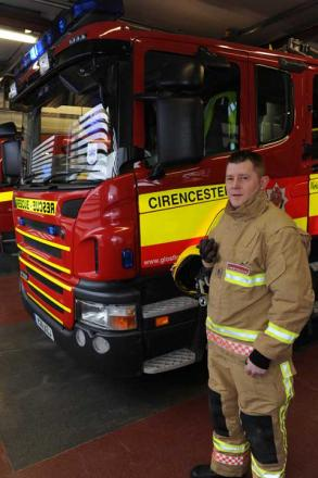 Firefighter Des Moore who will be trekking on Mount Everest next year