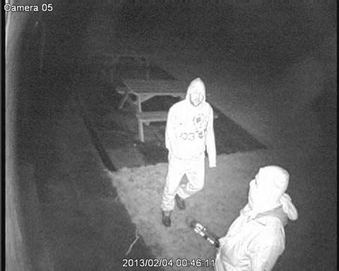 CCTV released in Down Ampney Village Hall theft appeal