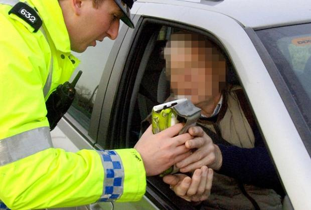 Police arrest four people in the Cotswolds during the last nine days of anti drive driving campaign