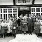 A nurses reunion at Cirencester's Memorial hospital in July 1985.