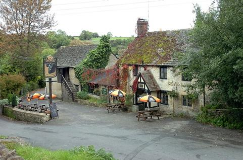 The Seven Tuns in Chedworth, which recently closed its doors