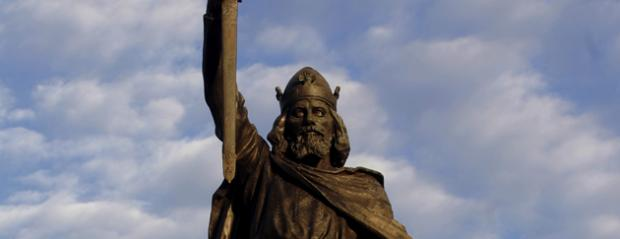 Wilts and Gloucestershire Standard: Statue of King Alfred the Great in Winchester