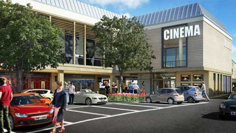 Artist's impression of the new Cirencester cinema plans