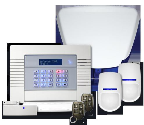A security alarm system