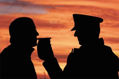 Arrests during summer drink drive campaign