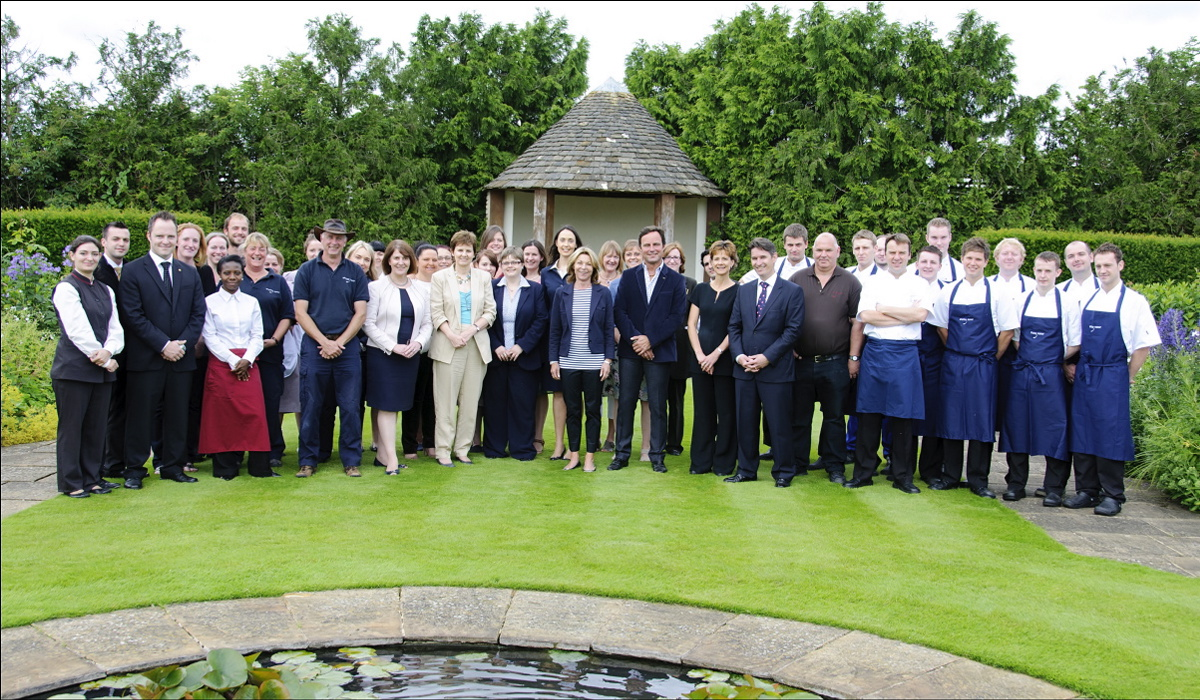 The Whatley Manor team