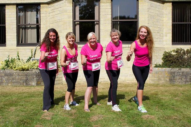 The Mitsubishi Race for Life team