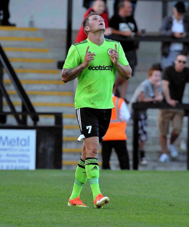 Wilts and Gloucestershire Standard: Forest Green star James Norwood