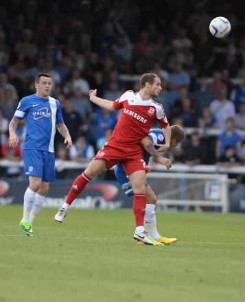 Ryan Harley, who came back to form for Swindon Town against Crawley