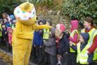 Swell children were delighted to meet Pudsey