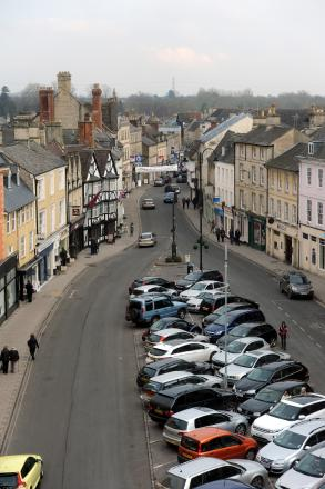 Cricklade Street is based near Cirencester Town Centre (pictured)