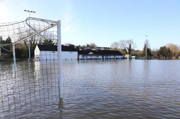 Flood hit football club's kareoke fundraiser