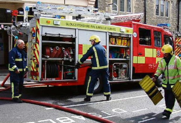 Tetbury fire station holds open day to celebrate its 50th birthday