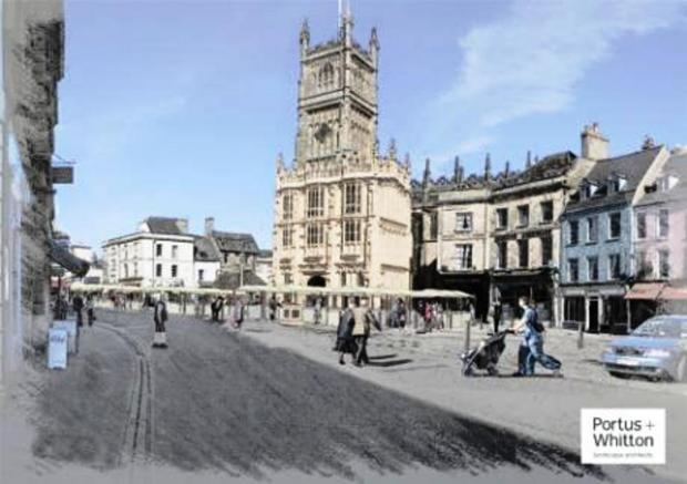 Proposed revamp for Cirencester's Market Place garners praise from leading figures in the town