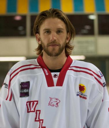 Alex Symonds of  Swindon Wildcats scored a rare goal over the weekend. Picture: Nicky Pearce